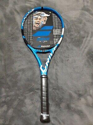 Blue grip 3 4 3//8 RRP $329 x1 BRAND NEW 2019 BbLAT PURE DRIVE Racquet Strung