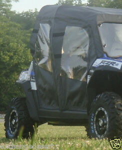 FULL-CAB-Enlosure-for-Existing-Windshield-POLARIS-Ranger-RZR-4-New-UTV