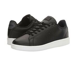 Adidas Neo Cloudfoam Advantage Clean Court Shoe in Black Men's ...