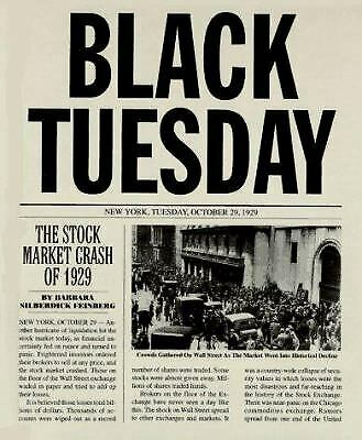 Black Tuesday : The Stock Market Crash of 1929  (ExLib)