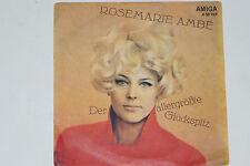 """ROSEMARIE AMBE -Der Allergrößte Glückspilz / Und Wenn Du Mich...- 7"""" 45 AMIGA"""