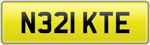 KATE-BARGAIN-CAR-REG-NUMBER-PLATE-N321-KTE-FEES-PAID-KATY-KITE-KATEY-KAT-KATIE