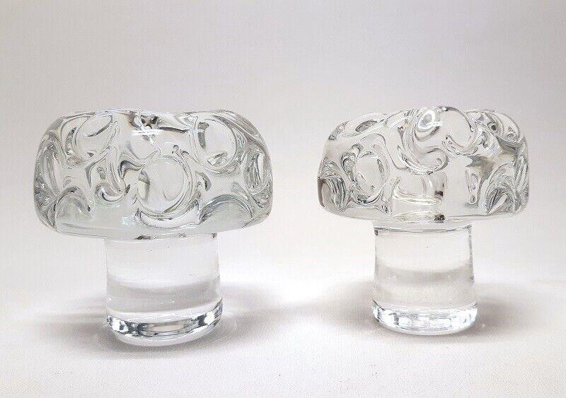 Glas, Lysestage, Holmegaard