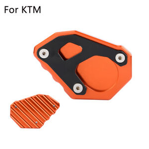 Motorcycle-Side-Stand-Kickstand-Pad-Foot-Plate-For-KTM-11050-1090-1290-Adventure