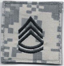 ACU US Army E-7 E7 Sergeant First 1st Class Rank Insignia Hook Fastener Patch