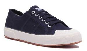 49bfce5583 Superga 2390 Cotu Classic Mens Canvas Navy Trainers UK Size 7 - 12 ...