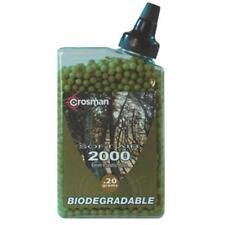 Crosman 6mm Biodegradable Airsoft BBS 0.20g 2000 RDS White Grey 1
