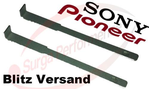 2x rilascio del STAFFA Pioneer Sony Autoradio potenziamento strumento di Staffa Radio potenziamento