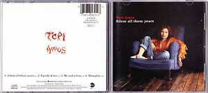 Tori-Amos-Silent-All-These-Years-Scarce-1992-UK-4trk-reissue-CD