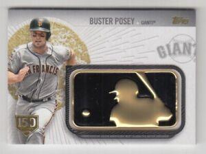2019 Topps MLB Logo Golden Anniv Comm Patch 150th Anniversary #BP Buster Posey