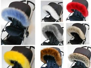 Silver-cross-wayfare-pioneer-Hood-fur-trim-for-colour-pack-pushchair-pram-hood