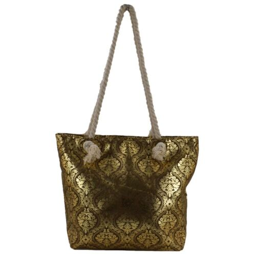 Beach Bag Womens Ladies Large Summer Shoulder Shopper Tote Canvas Bags