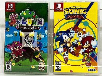Sonic Mania Soldam Nintendo Switch Brand New Factory Sealed Ebay