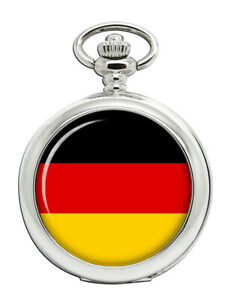 Germany-Flag-Pocket-Watch