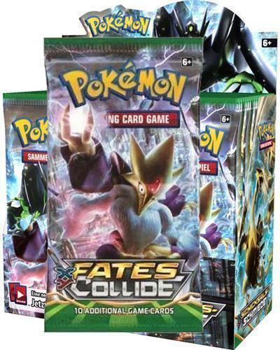 Pokemon XY XY XY Fates Collide Booster Box - Factory Sealed - Free Shipping  8abf3c