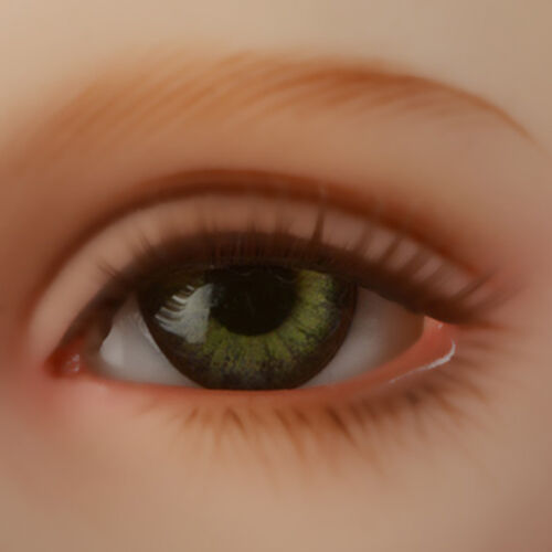 Dollmore 22mm Classic Flat Back Oval Glass Eyes CC02