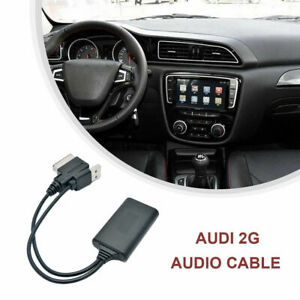 1x-Pour-AUDI-A4-8T-8K-4F-Q7-7L-AMI-MMI-2G-USB-AUX-Adaptateur-Cable-Bluetooth