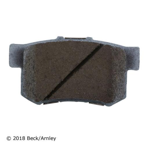 Disc Brake Pad and Hardware Kit Rear Beck//Arnley 085-6498