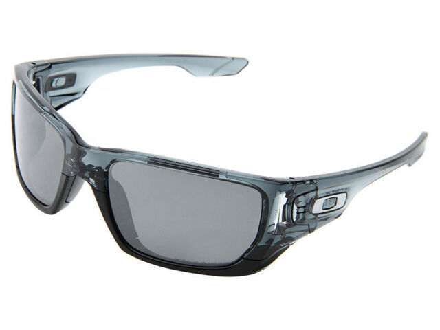 3f3daa4ed4 Oakley Style Switch Polarized Crystal Black grey Chrome Iridium ...