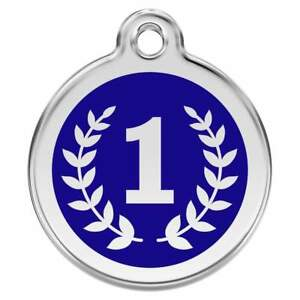 Engraved-Dog-ID-Identity-Tags-Discs-Winner-First-No-1-Red-Dingo-1WI