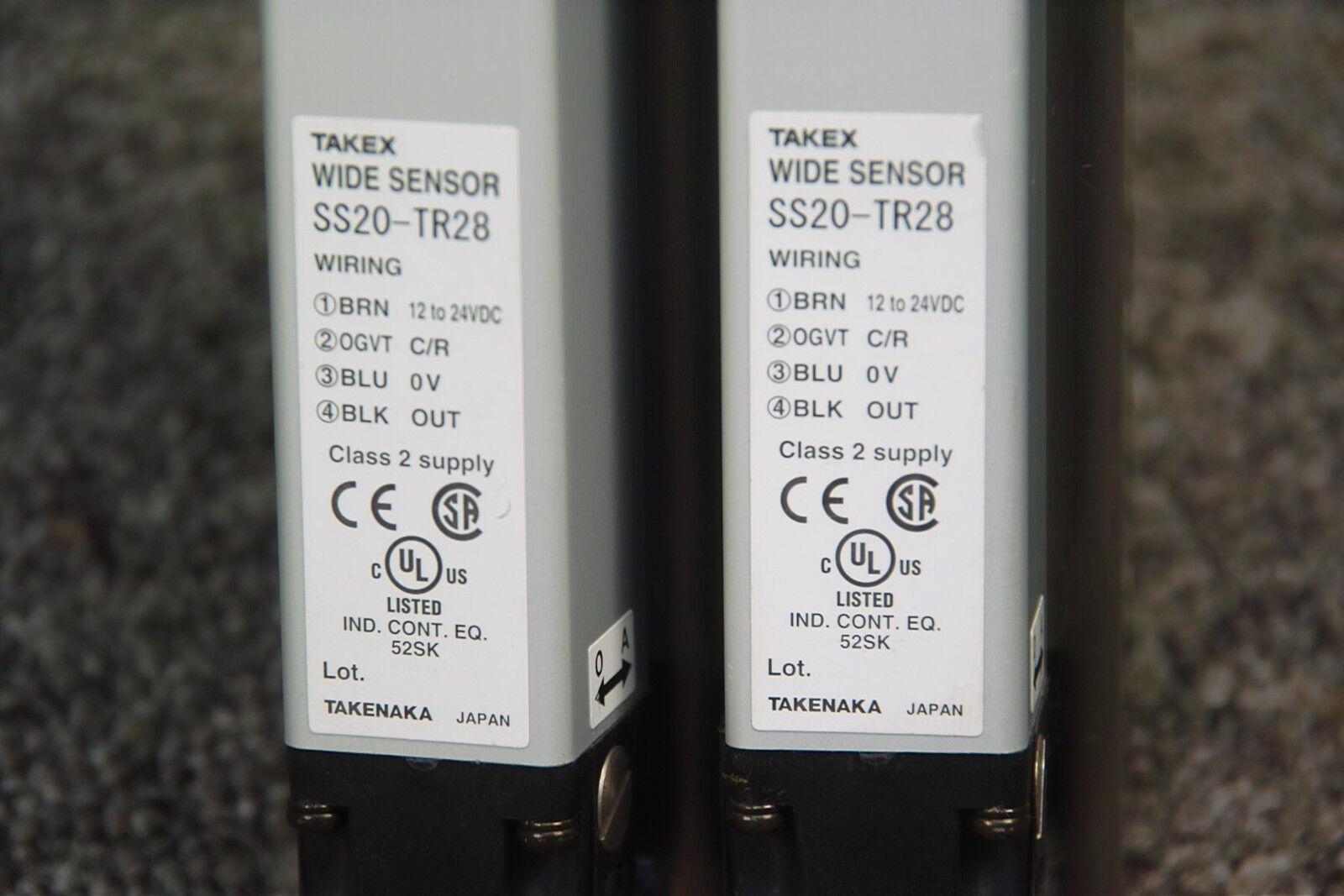 Takenaka takex amplia Sensor ss20-tr28 Lote De 2 2 2 f4b11c