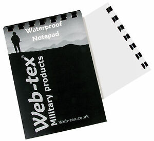 50-PAGE-A6-POLICE-SO19-FIREARMS-WATERPROOF-NOTEBOOK
