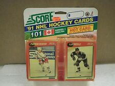 OLDER HOCKEY CARDS 1991- CANADIAN ENGLISH SERIES 1- NORMAND ROCHEFORT- NEW- L136