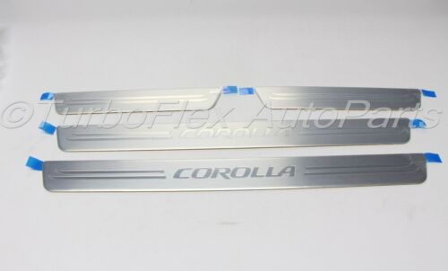 Toyota Corolla 2014-2018 Door Sill Enhancements Genuine OEM    PT228-02140