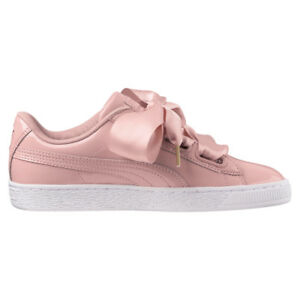 Puma scarpe donna sneakers basse 363073 11 BASKET HEART PATENT WN'S P18