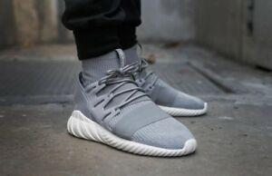 ae28d2566a39 NEW MENS ADIDAS TUBULAR DOOM PK PRIMEKNIT SNEAKERS S74920-SHOES-SIZE ...