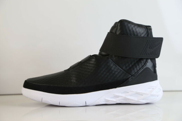 Black Nike Mens Sneakers Leather Hunter Hntr 001 832820 Swoosh Shoes zrXEYqr