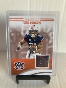 Details about Panini Auburn Football Tre Mason Jersey Card