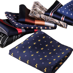 Cotton Formal Suit Handkerchief Pocket Square For Wedding Dress Party Hanky