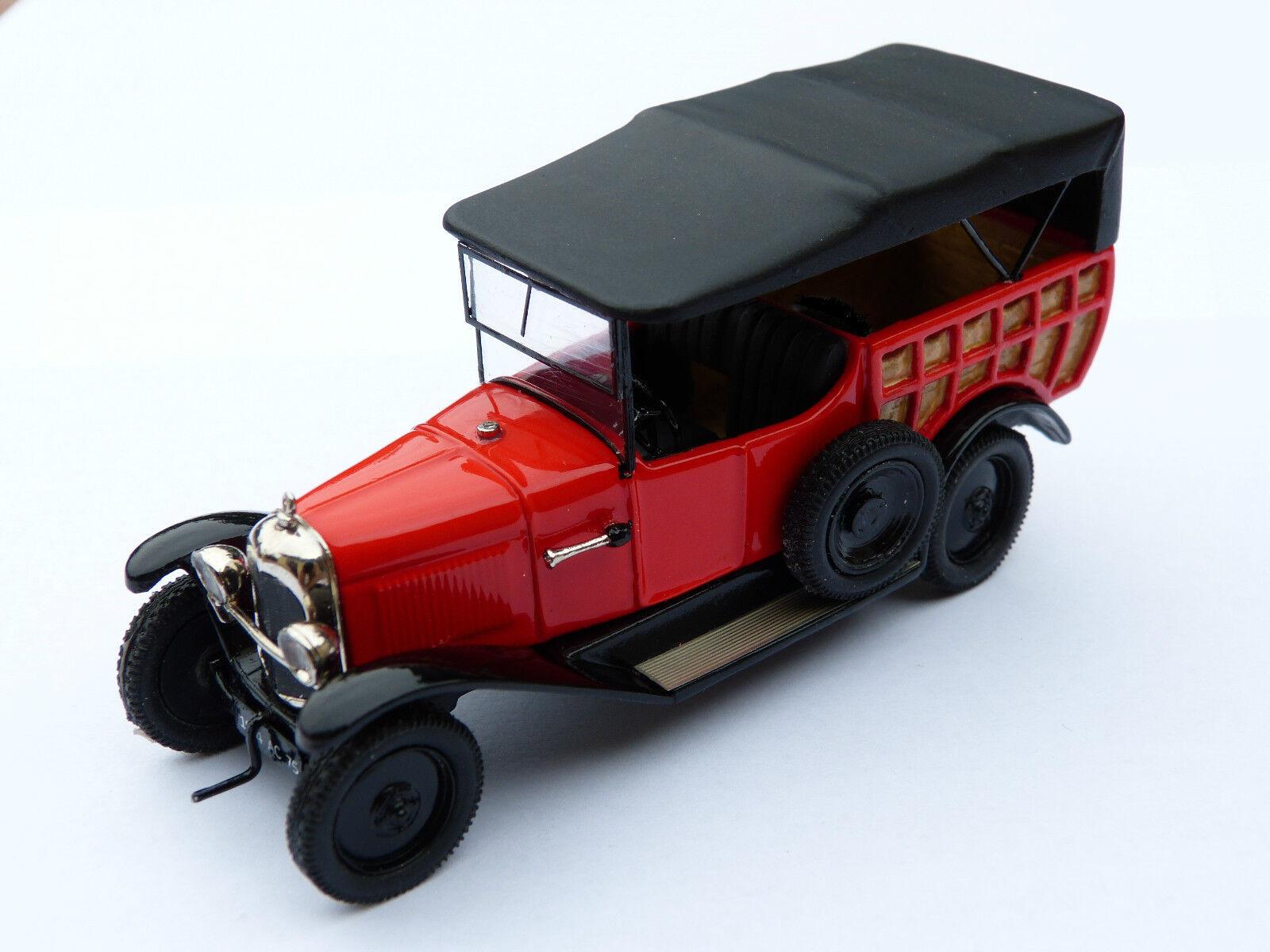Kit pour miniature auto CCC   Citroën B2 normande 1927 référence 194