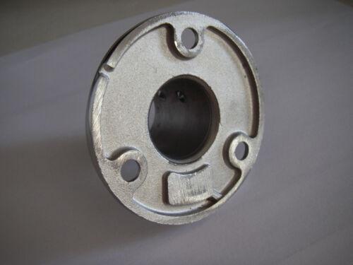 Embase A4 Platine Ronde 25mm De Luxe Droite 90° inox 316