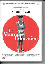 DVD ZONE 2--LA MAUVAISE EDUCATION--ALMODOVAR/BERNAL/MARTINEZ