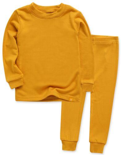 """Vaenait Baby Toddler Kids Clothes Long  Pajama Set /""""Modal Mustard/"""" 18M-12Y"""