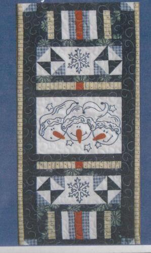 Turnberry Lane PATTERN snowman stitchery /& pieced PATTERN Buddies