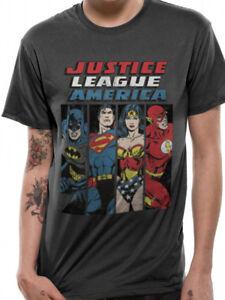 Justice League of America Strength In Number Adult Crewneck Sweatshirt