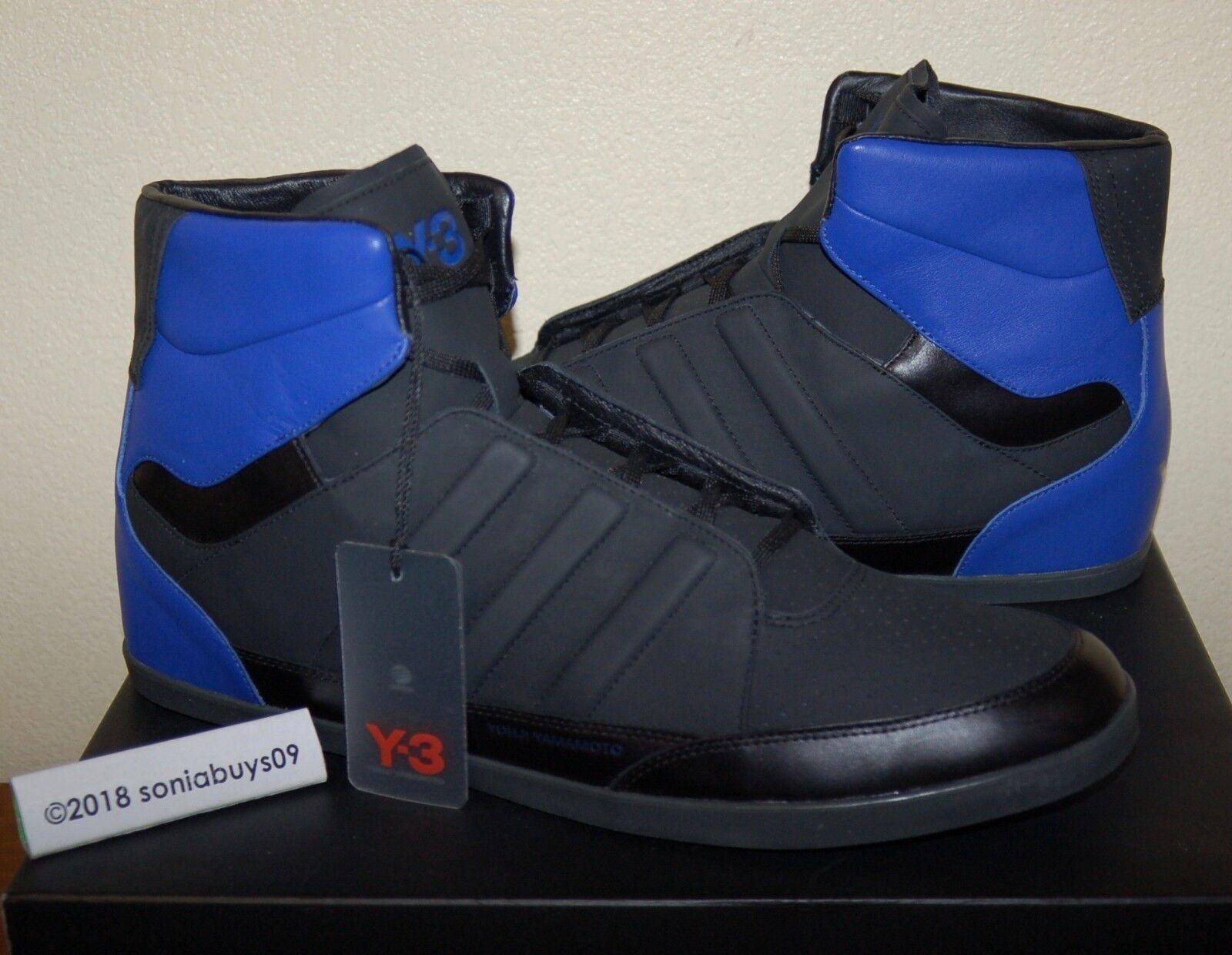 Adidas uomini oe honja alto scarpe, 14 v22247, nero / blu, taglia 14 scarpe, 5abeb3