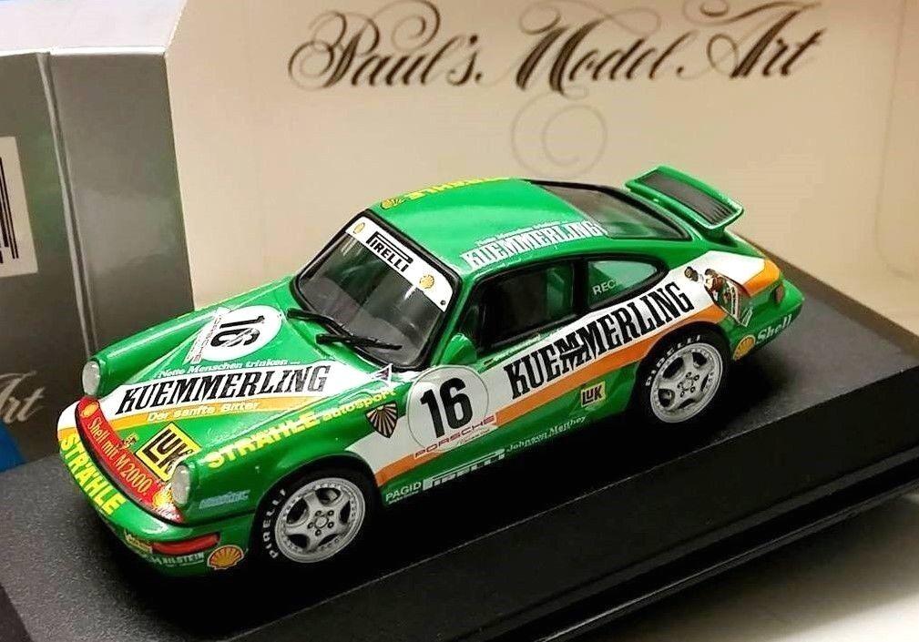 Minichamps Porsche 911 964 voitureera Cup 1992 Strähle Autosport  Mathey file  centre commercial professionnel intégré en ligne