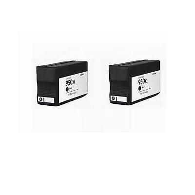 2 HP 950XL CN045AN Officejet Pro 8600 Premium 8100 251dw 276DW show ink level