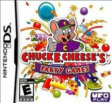 Chuck E. Cheese's Party Games Nintendo DS very good condition used video game