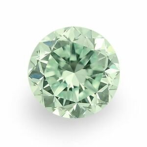 Rare-2-72-ct-9-50-mm-VVS2-Intense-Green-Round-Cut-Loose-Moissanite-UK1