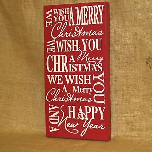 Merry-Christmas-Happy-New-Year-Wood-Wall-Picture
