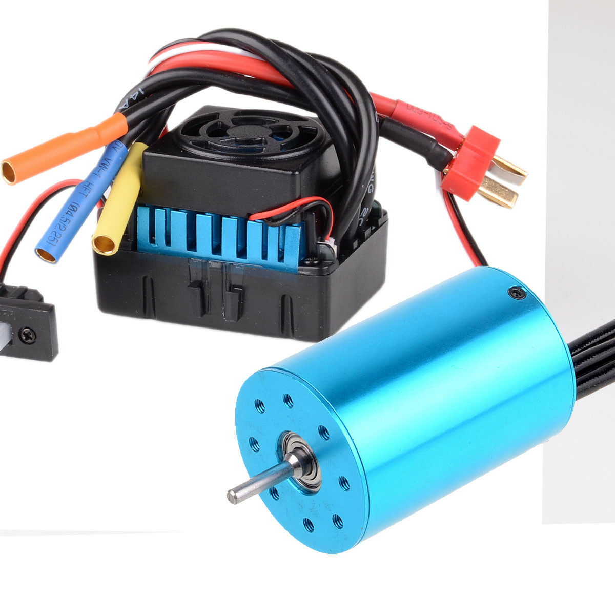 60A 03307+03302 WaterProof Brushless ESC & RS540 Brushless Motor 3300KV 107051