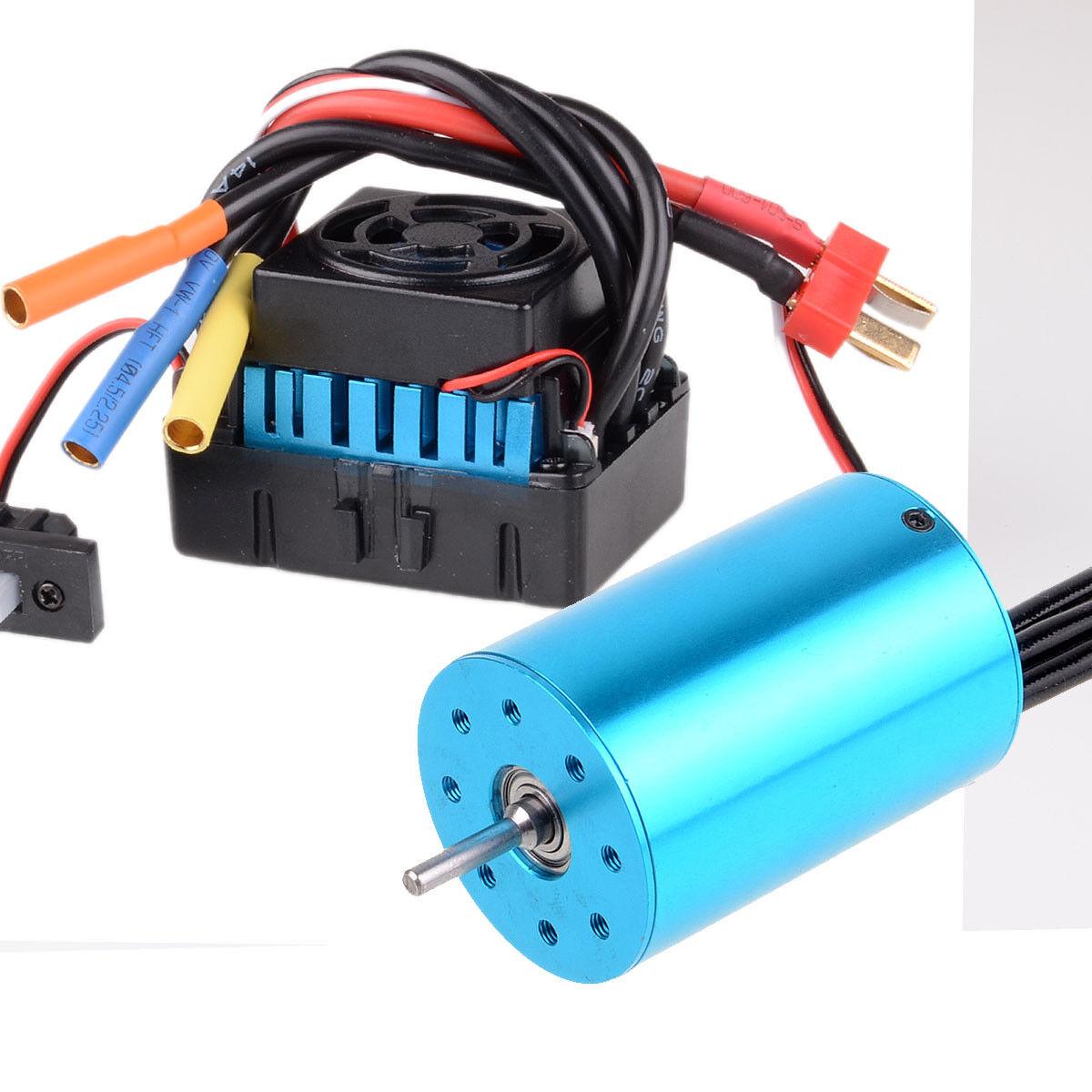 Impermeable Brushless ESC y RS540 motor motor motor sin escobillas 3300 kV 107051 60 A 03307+03302  hasta un 65% de descuento