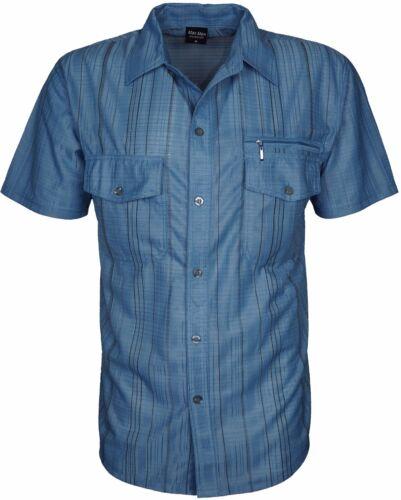 MAX Collection Uomo Designer di Camicie Maniche Corte Vestibilità Normale Taglie fino a 2XL 3XL