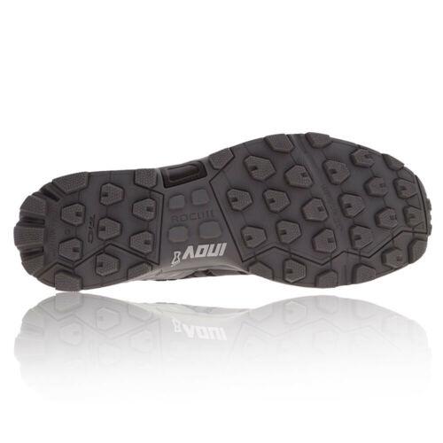 Inov8 Roclite 290 Womens Black Grey Trail Running Sports Shoes Trainers