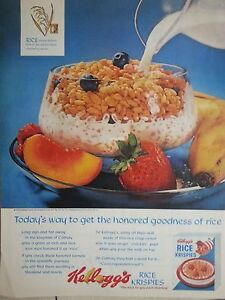1963-Kelloggs-Rice-Krispies-Fruit-Cereal-Milk-Bowl-Original-Print-Ad
